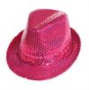 Despedidas Lowcost Aliv Sombrero Con Lentejuelas Rosa