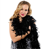 Despedidas Lowcost Black Feather Boa 1.83 Cm