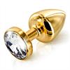 Diogol - Butt Plug Anni oro redondo de 35 mm