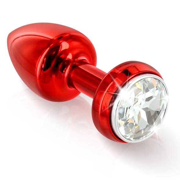 Diogol - Diogol - Butt Annixitting vibrante Plug Rojo 34 mm