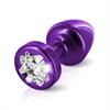 Diogol - Anni R Butt Plug trébol púrpura 25 mm