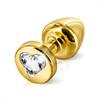 Diogol - Anni R Butt Plug Corazón de Oro 25 mm