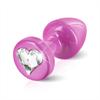 Diogol - Anni R Butt Plug Pink Heart 25 mm
