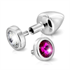 Diogol - Butt Plug Anni Interruptor Pink & Clear 25 mm
