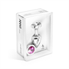 Diogol - Plug Anal Anni Switch Swarovski Pink & Clear 25 mm