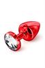 Diogol - Anni Rojo Cristal Swarovski T1
