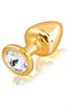 Diogol Anni Round Gold Swarovski T1