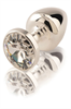 Diogol - Diogol - Butt Anni conector redondo de plata plateado 35 mm