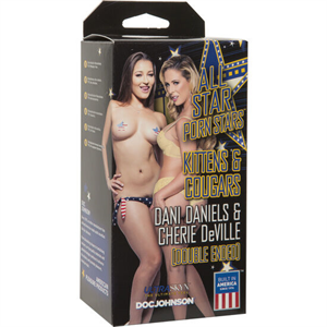 Doc Johnson All Stars Porn Stars Dani Daniels Y Cherie Deville Vagina