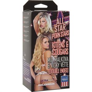 Doc Johnson  All Stars Porn Stars  Mia Malkova Y Vicky Vette
