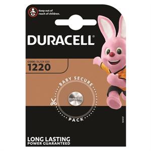 Duracell Pila Boton Litio Cr1220 3v Blister*1