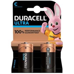 Duracell Ultra Power Pila Alcalina C Lr14 Blister*2