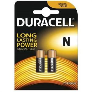 Duracell Pila Alcalina Mn9100 N Lr1 1,5v Blister*2