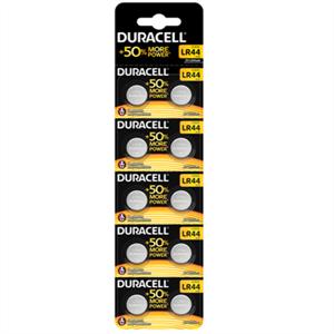 Duracell Pila Boton Alcalina Lr44 1,5v Blister*10