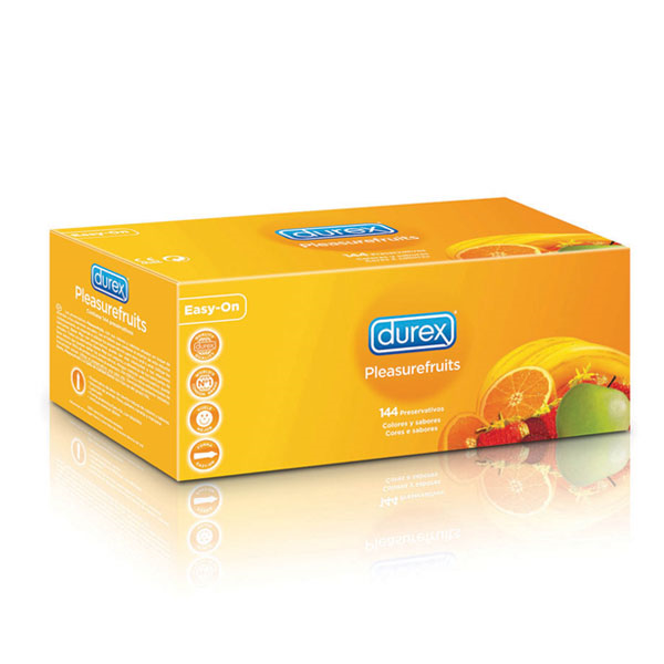Durex - Preservativos PleasureFruits 144 Unidades