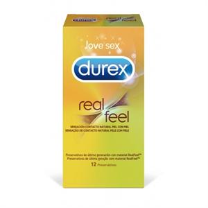Durex - RealFeel 12 uds. (Sensitivo sin látex)