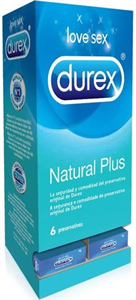 Durex - Natural Plus Vending (27 cajitas)