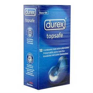 Durex - Durex - Preservativos TopSafe 12 piezas