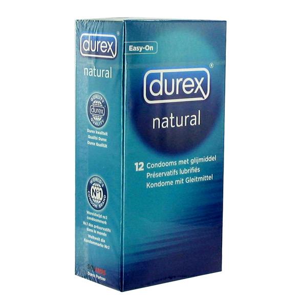 Durex - Durex - Preservativos Naturales 12 piezas