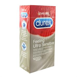 Durex - Durex - Feeling Ultra Sensitive Condoms 12 pcs
