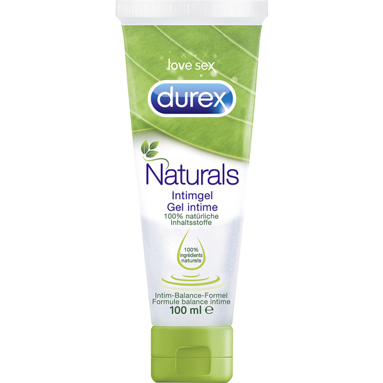 Durex - Gel Lubricante Naturals (100% Natural)