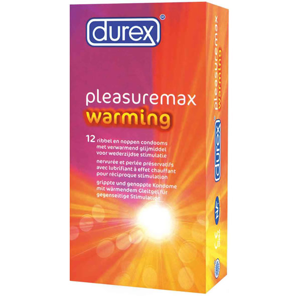 Durex - PleasureMax Warming (Efecto Calor)