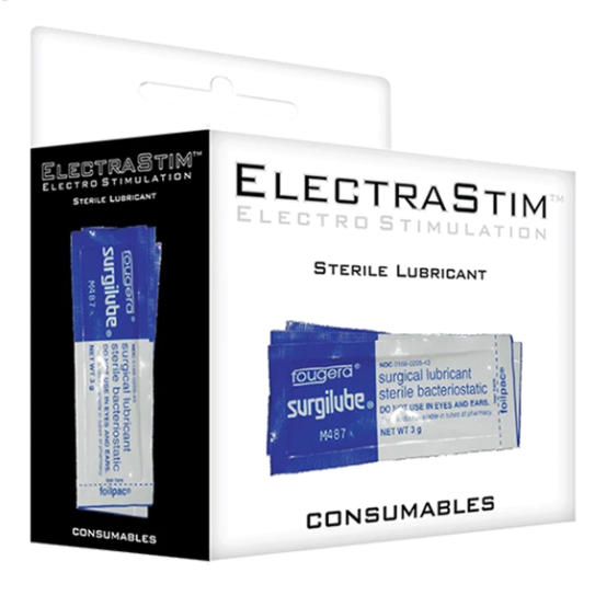 Electrastim - Electrastim Lubricante Esterilizante Pack De 10uds