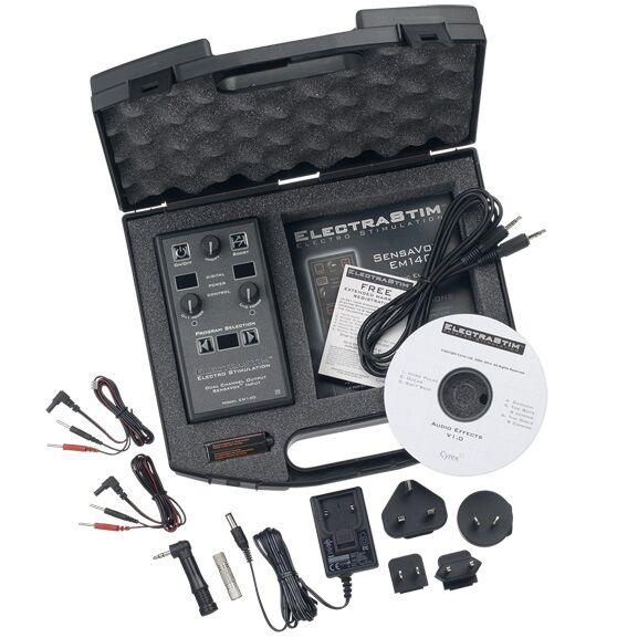Electrastim - Electrastim  Sensavox E-stim Electro Estimulador