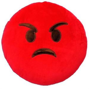 Emoticonworld Cojin Emoticono Angry 32 Cm