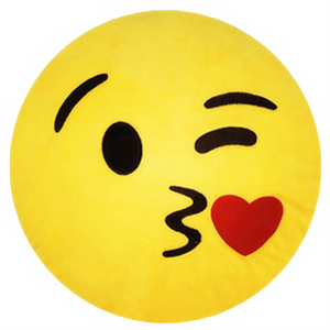 Emoticonworld Cojin Emoticono Kiss 32 Cm