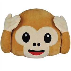 Emoticonworld Cojin Emoticono Monkey 32 Cm