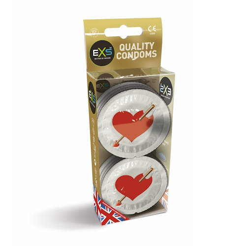 EXS - Love Heart Condoms