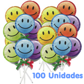 EXS - Smiley Face Lollipop Piruleta Granel