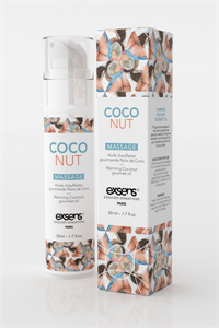 Exsens - 50ml Masaje Caliente Coco Gourmet