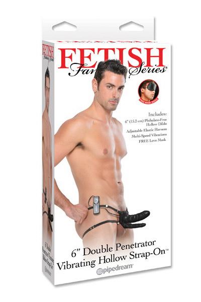Fetish Fantasy Arnés Doble Penetración Con Vibración