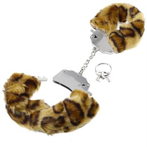 Fetish Fantasy Esposas Estampado Cheetah
