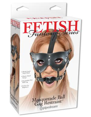 Fetish Fantasy Máscara con bola de mordaza incluida