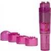 Gc - Pocket Vibe Estimulador Con Cabezales - Rosa