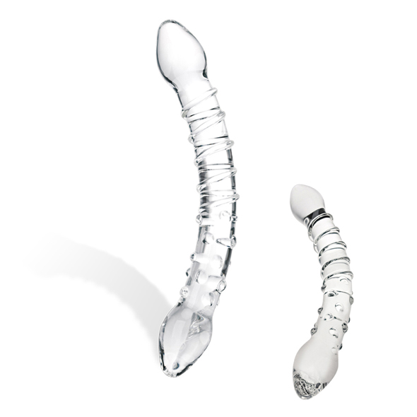 Glas - Glas - Double Trouble Glass Dildo