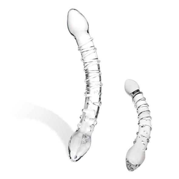 Glas - Glas - Double Trouble Glass Dildo