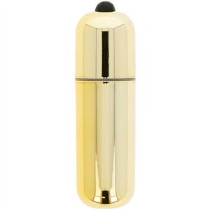 Glossy Premium Vibe Bala Vibradora 10v Dorada