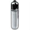 Glossy Premium Vibe Bala Vibradora 10v Silver