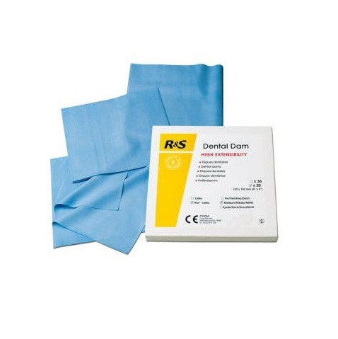 Glyde Dental Dam sin Látex (20 uds)