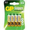 Gp Batteries Gp Super Alkaline Pila Alcalina Aa Lr6 Blister*4