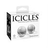 Icicles - Bolas Ben-wa De Cristal Medianas Número 42