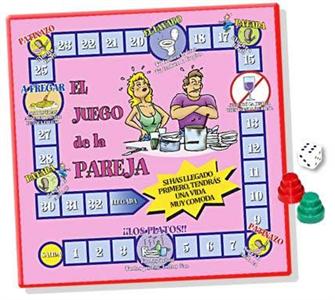 Inedit El Juego De La Pareja (medida:33.5 X 33.5cm)