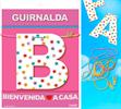Inedit Guirnalda Bienvenida A Casa (cartulina 220gr)
