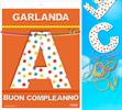 Inedit Guirnalda Buon Compleanno (cartulina 220gr)