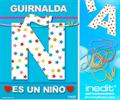 Inedit Guirnalda Es Un Niño (cartulina 220gr)