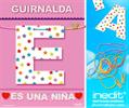 Inedit Guirnalda Es Una Niña (cartulina 220gr)